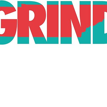 Grind State (Teal/Red) by Pelicaine