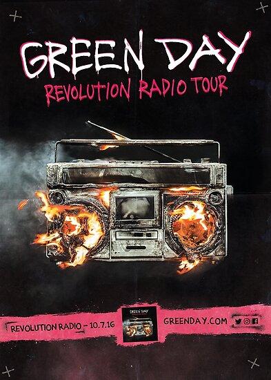 "Green Day - Fine Art Poster ""Revolution Radio Tour"" by livemusicprint"