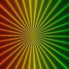 Rainbow Rays Panorama by John Dalkin