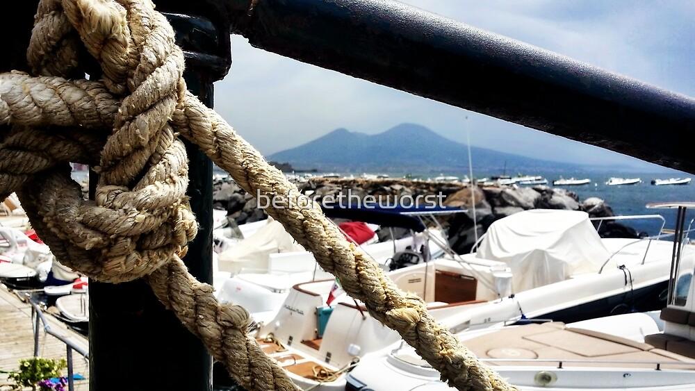 Napoli - Guardando il Vesuvio by beforetheworst
