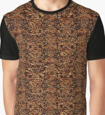 DAMASK2 BLACK MARBLE & COPPER FOIL Graphic T-Shirt