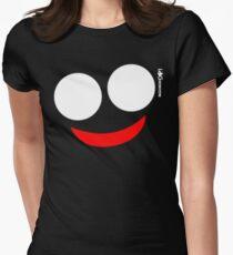 Log Horizon - Villain in Glasses Women's Fitted T-Shirt