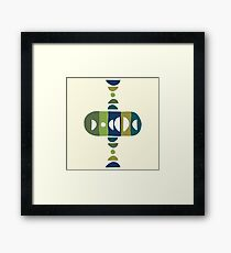 Storm Calka Green Space  Framed Print