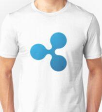 Ripple Cryptocurrency Logo Unisex T-Shirt
