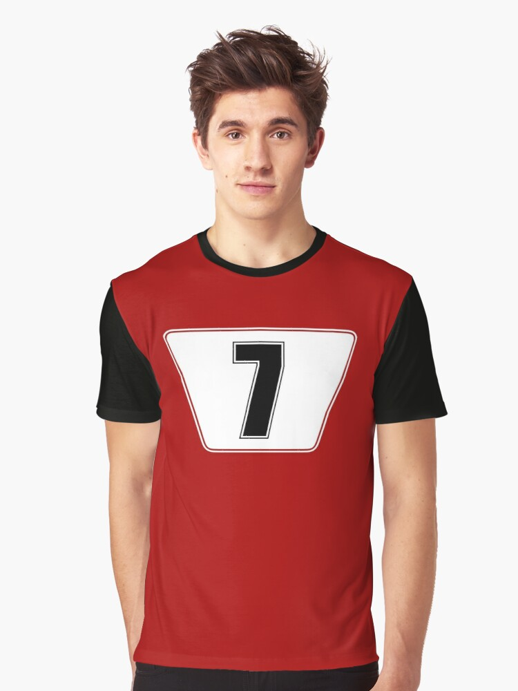 KIMI Number 7 Graphic T-Shirt Front