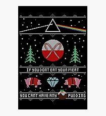 Hey Yule - Pink Christmas Photographic Print