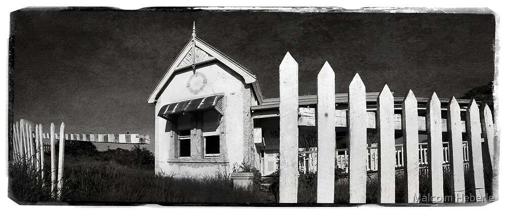 Derelict House #02 by Malcolm Heberle