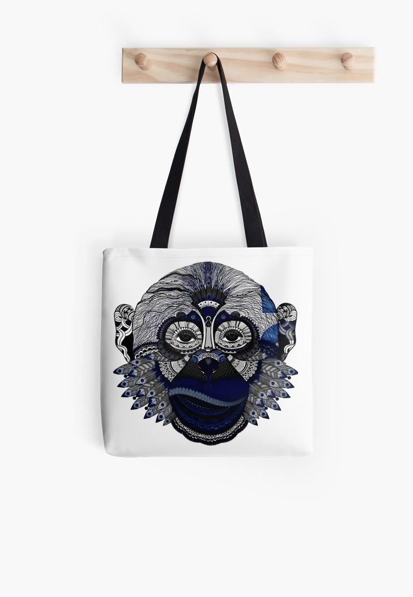 Blue Chimp by digital-circus