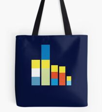 Simpsons on the Block Tote Bag