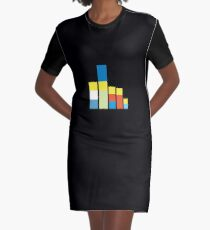 Simpsons on the Block Graphic T-Shirt Dress
