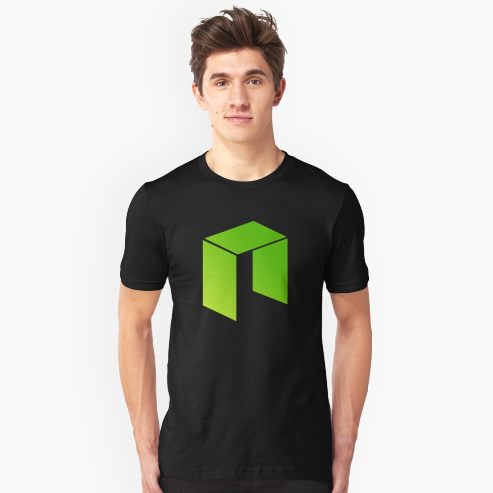 NEO GAS Cryptocurrency Unisex T-Shirt Front