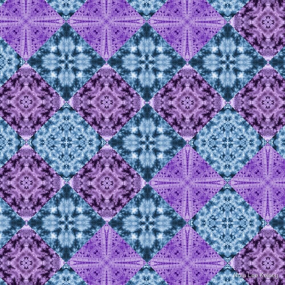 Boho Hippie Quilt by Nola Lee Kelsey
