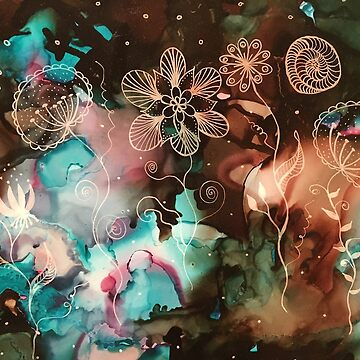Galactic Flowers by GosiaP
