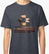 Commodore 64 Palm Tree Sunset Vaporwave Logo Classic T-Shirt