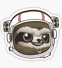 Sloth Astronaut Sticker