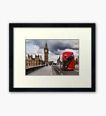 Westminster Bridge, London Framed Print