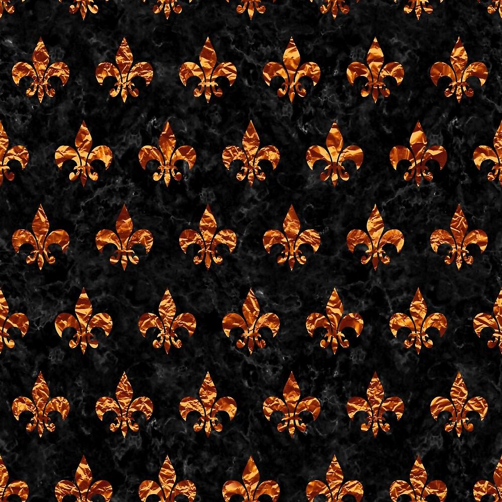 ROYAL1 BLACK MARBLE & COPPER FOIL (R) by johnhunternance