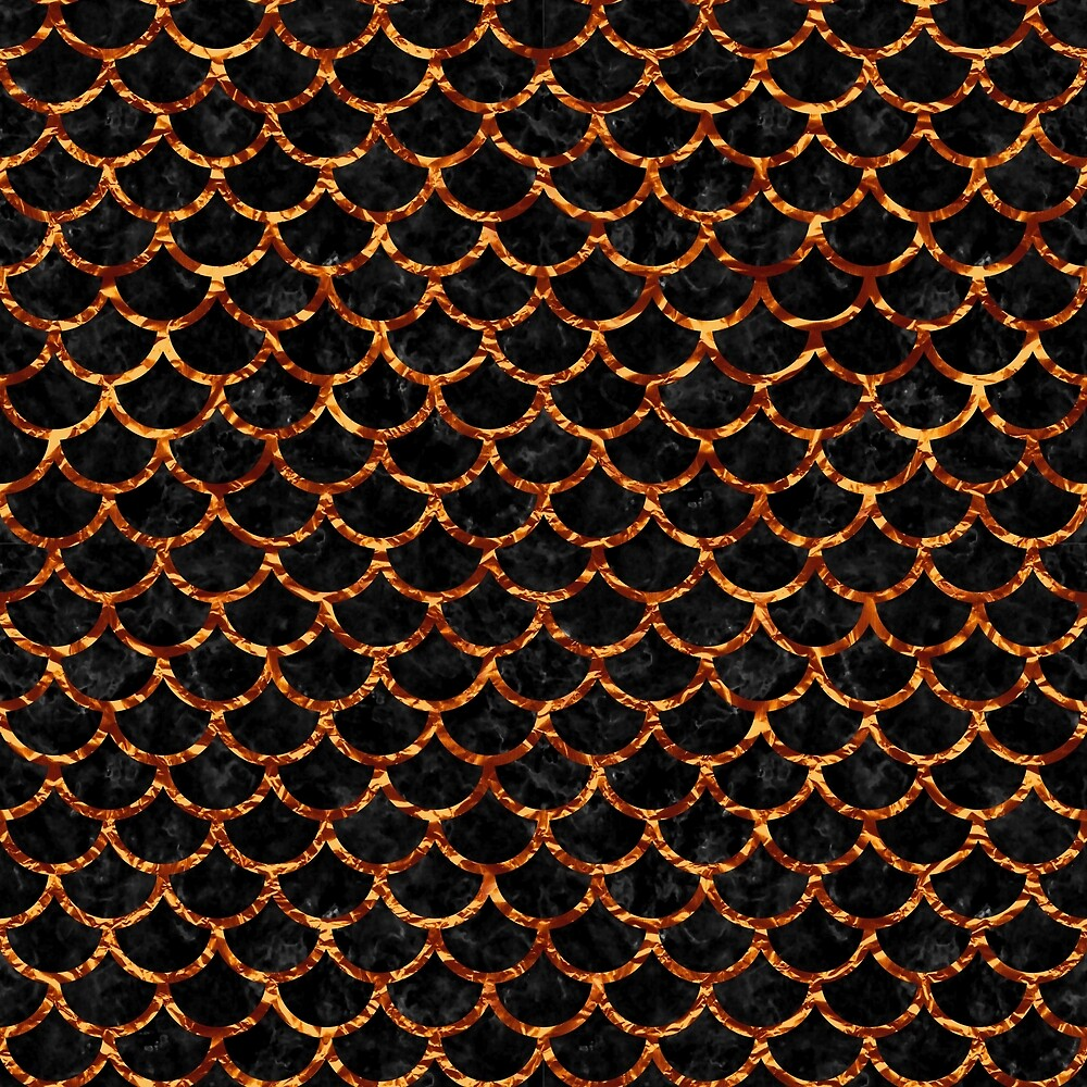 SCALES1 BLACK MARBLE & COPPER FOIL by johnhunternance