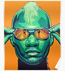 Green Velvet Poster