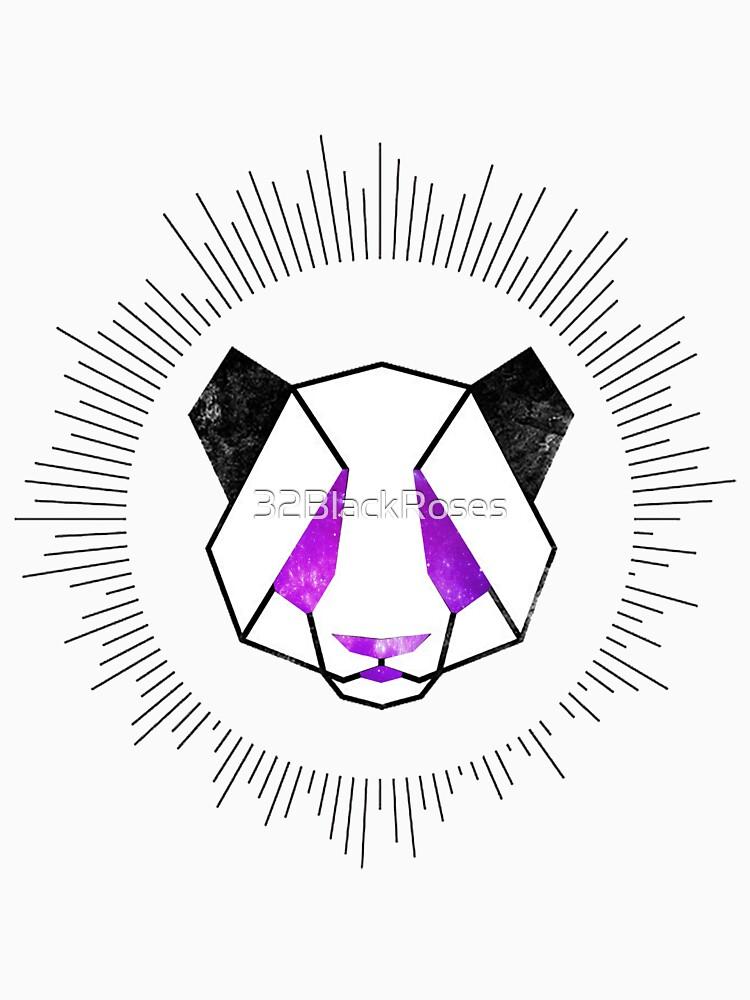 Space Panda by 32BlackRoses