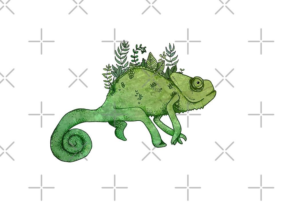 Chameleon by katherineblower
