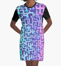 Cactus Land Graphic T-Shirt Dress