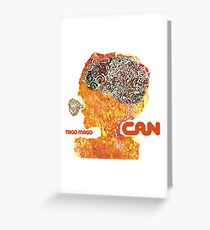 Can - Tago Mago Greeting Card