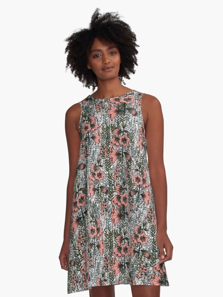 Mona-dore A-Line Dress Front