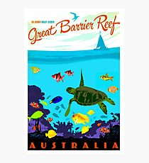 AUSTRALIA : Great Barrier Coral Reef Print Photographic Print
