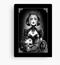 Gothic Clothing, Gothic Art, Day of the Dead Art, Day of the Dead Picture ,Dia De Los Muertos Canvas Print