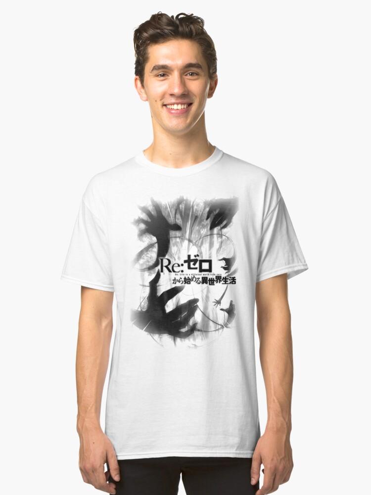 Re: Zero - Anime - Version 3 Classic T-Shirt Front