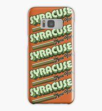 Syracuse, NY | City Stripes Samsung Galaxy Case/Skin
