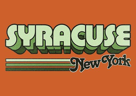 Syrakus, NY | Stadt Streifen von retroready
