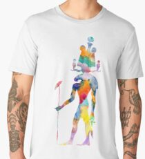 Khensu - God of Ancient Egypt Men's Premium T-Shirt