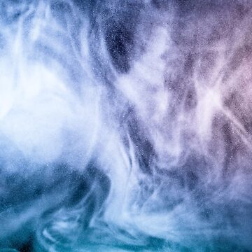 Blue and purple abstract heavenly clouds smoke by PLdesign