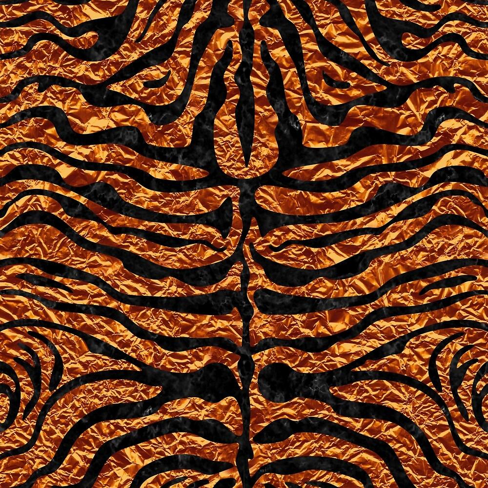 SKIN2 BLACK MARBLE & COPPER FOIL (R) by johnhunternance