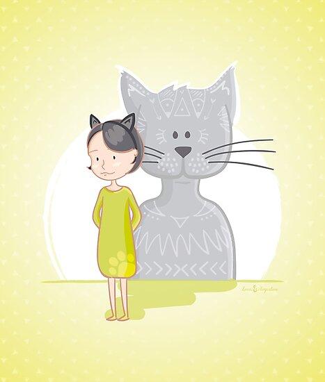 Cat's spirit by LouisAugustine