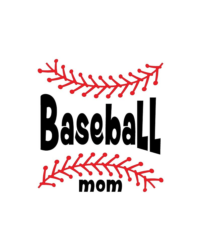 Baseball mom - Baseball Mother design - Baseball love by MentDesigns