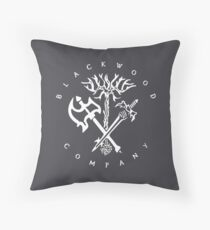 Blackwood Company Throw Pillow