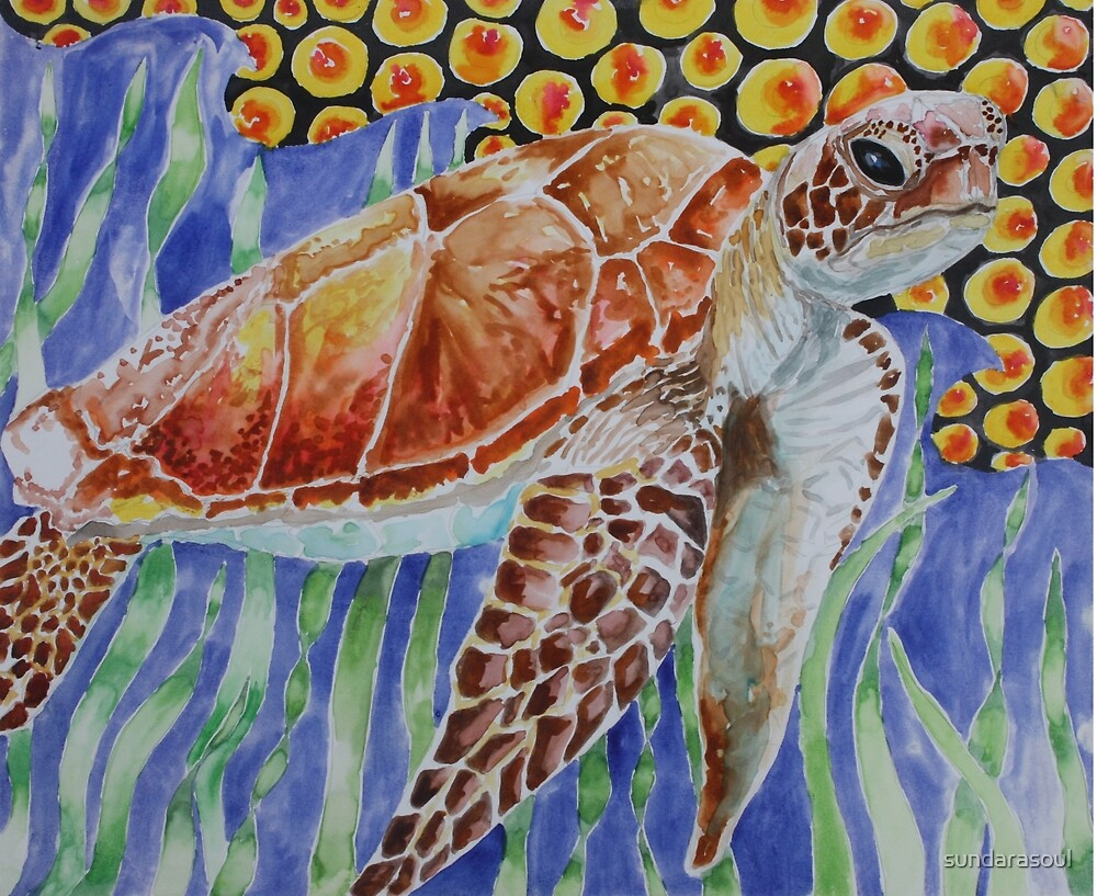 Sea Turtle by sundarasoul