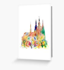Cathedral of Saint Vitus in the Prague Castle Greeting Card