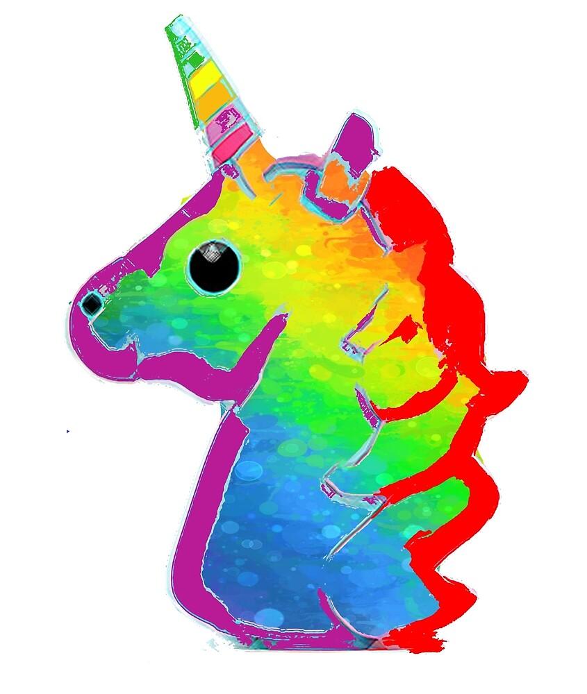Rainbow Unicorn by jeremydwilliams