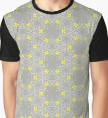 Small Pretty Yellow Flowers Graphic T-Shirt