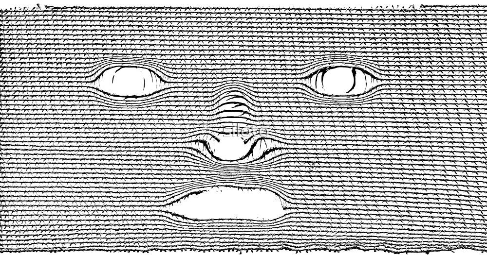 Mummylike - Haunted Face by siloto