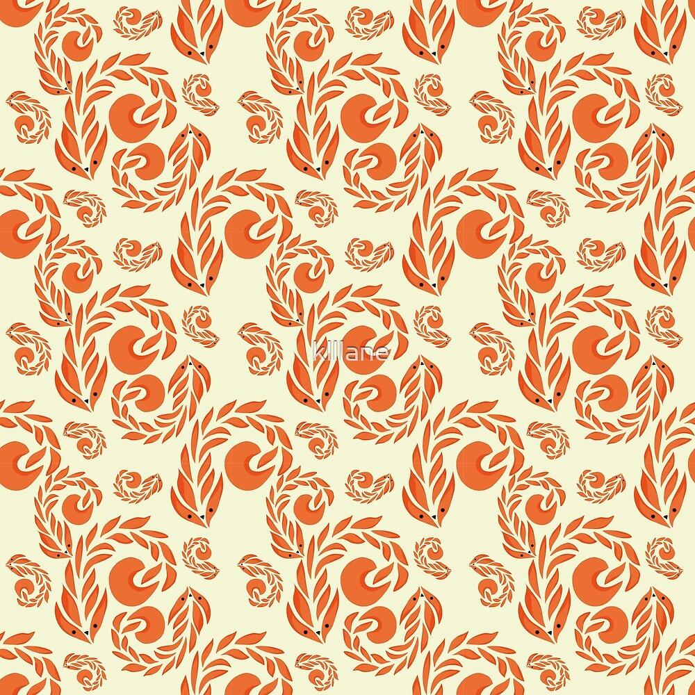 Fox pattern by klllane