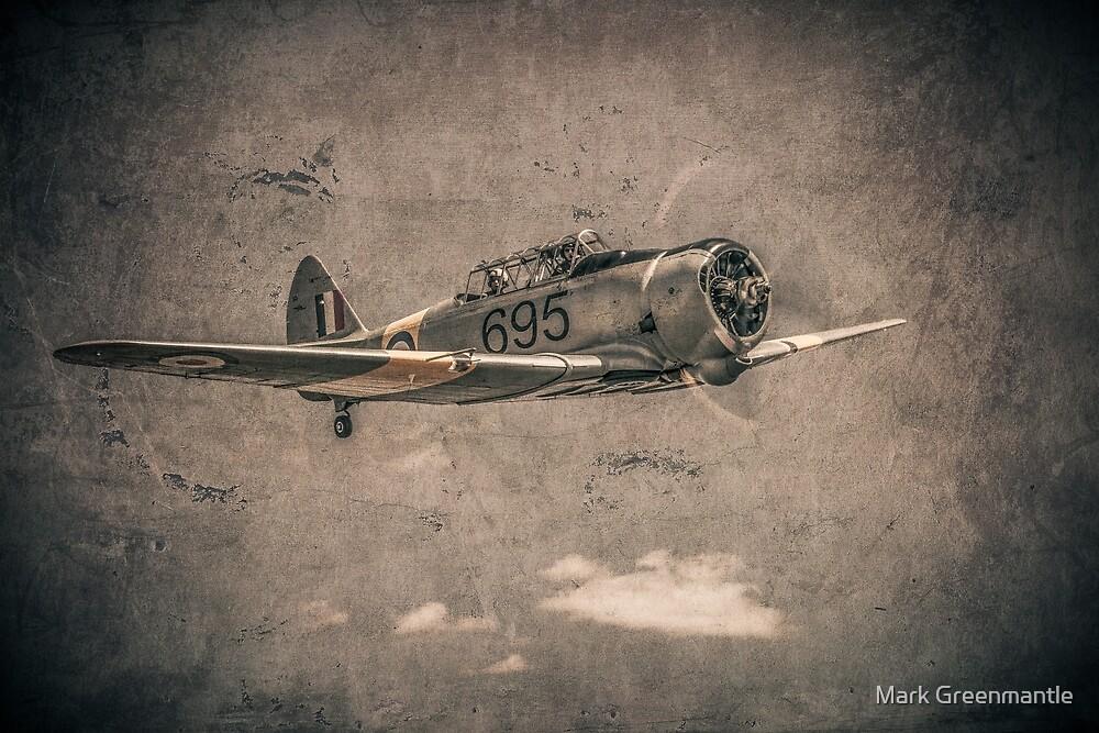 WWII RAAF Wirraway  by Mark Greenmantle