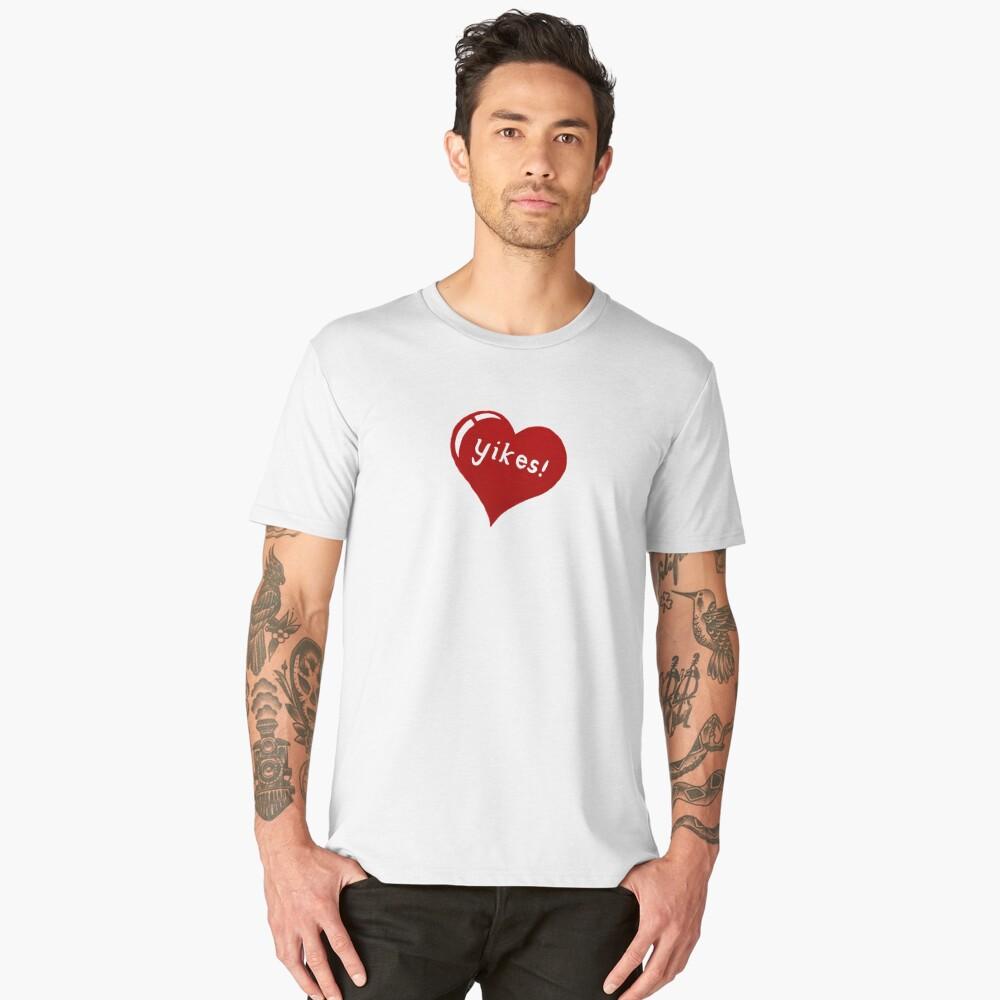yikes Men's Premium T-Shirt Front