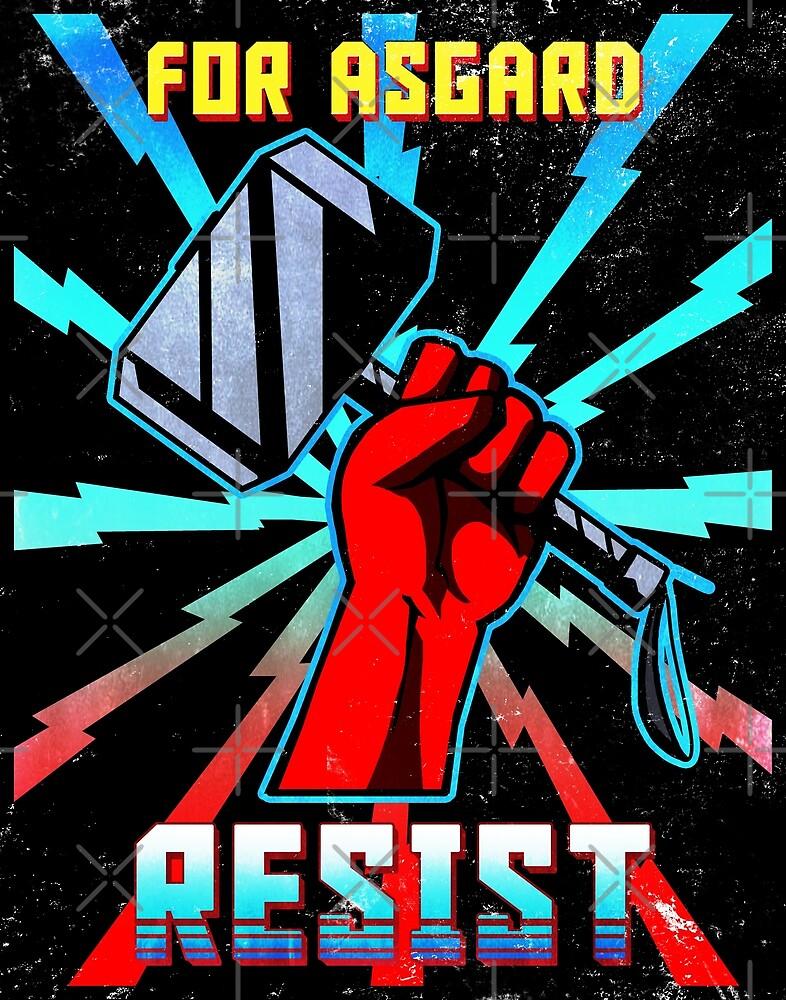 RETRO For Asgard Thor Propaganda by Kndroguecrafts