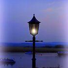 Evening Lamp in Topsham by Charmiene Maxwell-Batten