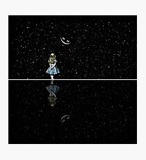 Alice In Wonderland Starry Night Photographic Print